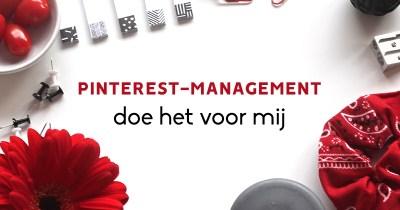 pinterest-management diensten - doe het voor mij