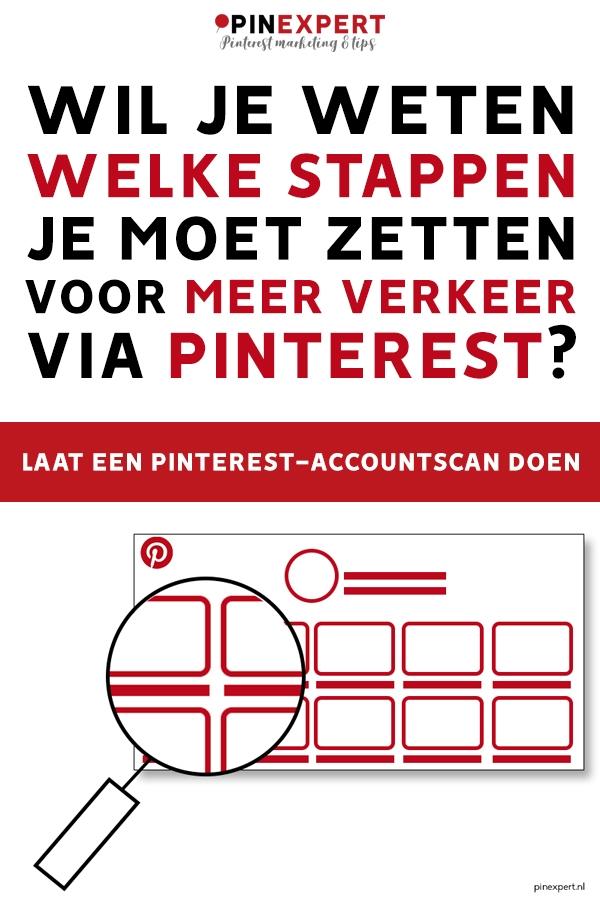 Pinterest accountscan