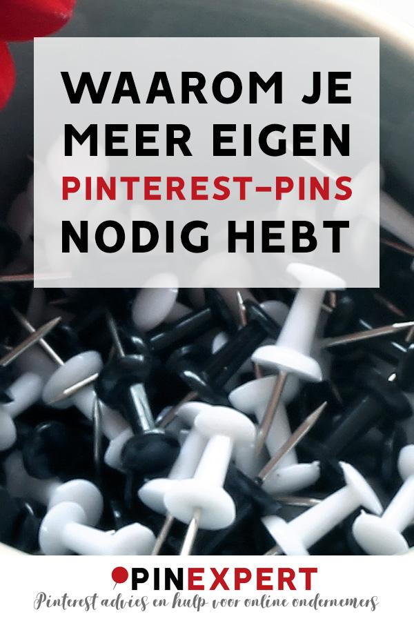 Meer eigen Pinterest pins