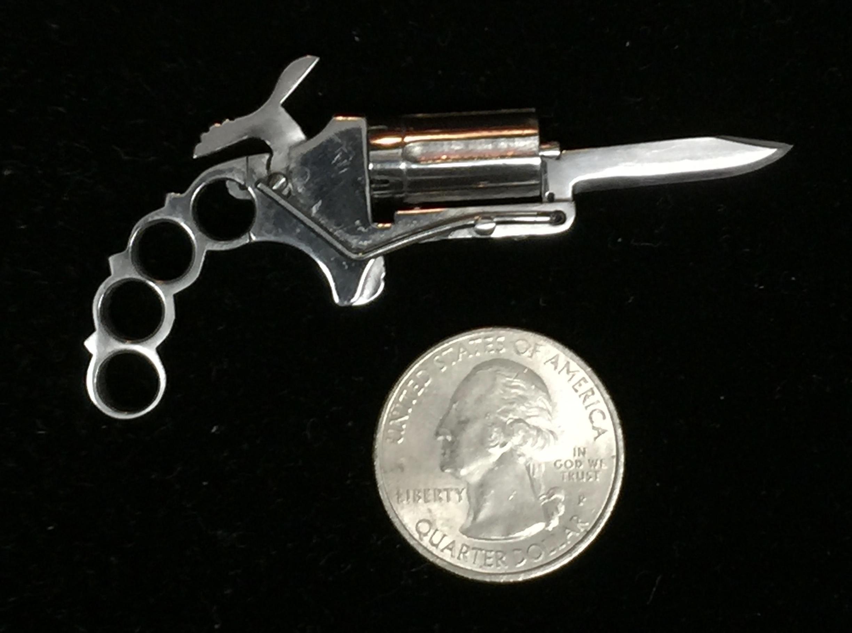 brass knuckles diagram australian trailer plug wiring 7 way apache knife spy 2mm pinfire 5 shot pepperbox w