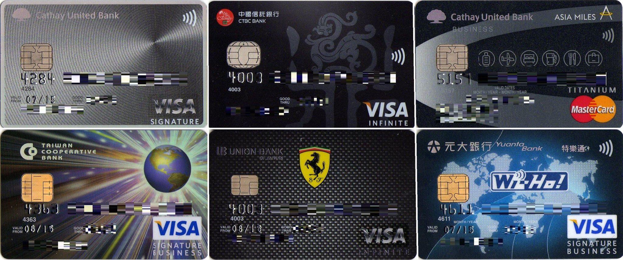 ☑ 資金準備–申辦國外刷卡高回饋特選信用卡   PíngĀn Bāo環遊世界中的平安包