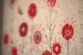 Embroidered Wastepaper Bin