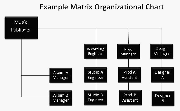 Matrix Org Chart