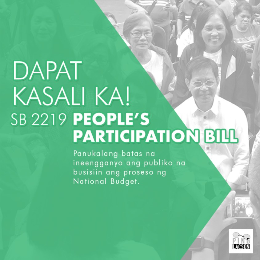 sb2219 Peoples Participation Bill