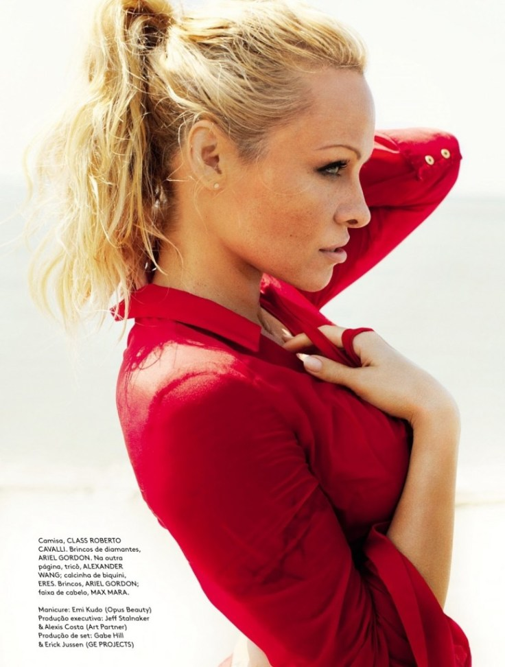 Pamela Anderson in Vogue, Brazil