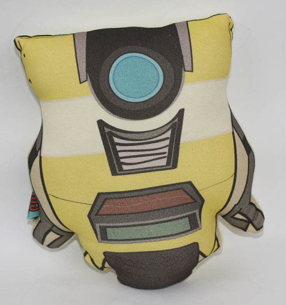 coussin borderlands 2 ClapTrap