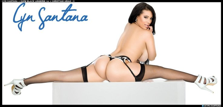 PINUP Of the Day - Cyn Santana tumblr_mqvayyF31P1r29kmro4_1280