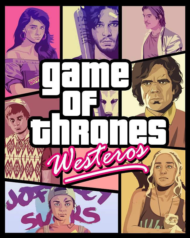 RockStar GTA - Game Of Thrones Edition