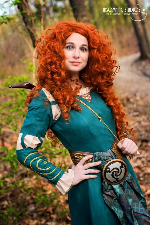 cosplay merida (brave-REBELLE)4