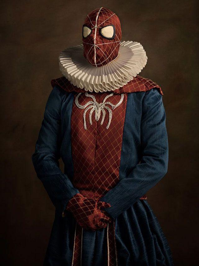Супергерои в 16 веке