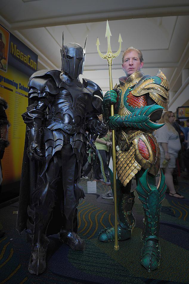 batman medieval vs aquaman