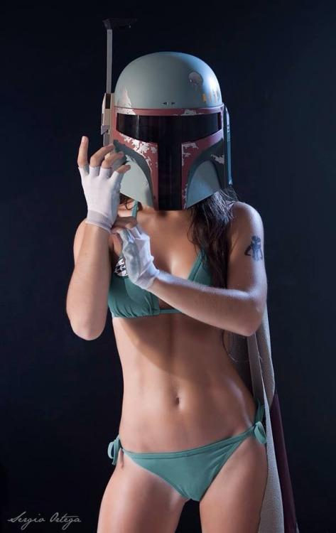 boba fett bikini cosplay1