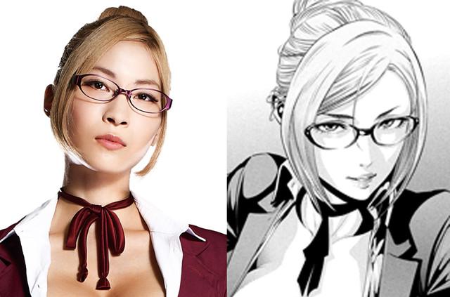 Prison School - Asana Mamoru plays Meiko Shiraki b88f085d4aa32edda53549cf677b46771441456084_full