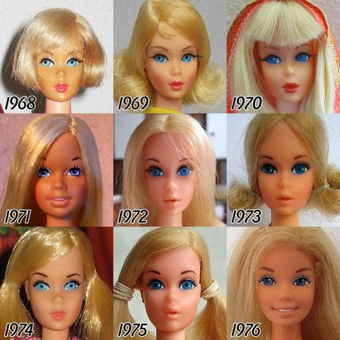 Barbie Evolution 1