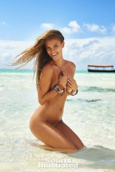 6-3 Nina Agdal Sports Illustrated Swimsuit 2016