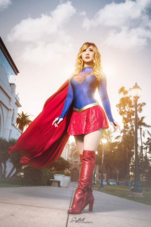 Cosplay Supergirl