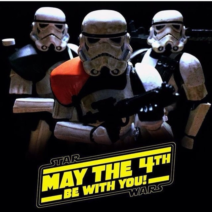 Starwars May the force 4th be with You