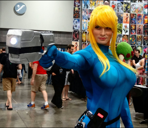 Cosplay Samus Metroid (1)