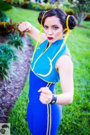 Street fighter Chun Lee Cosplay (3)