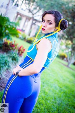Street fighter Chun Lee Cosplay (7)