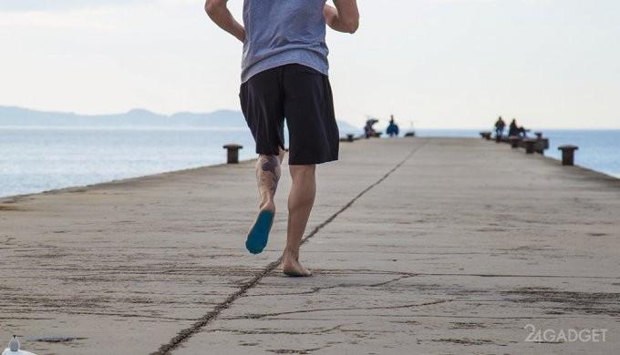 Пляжная обувь-наклейка Nakefit (9 фото + видео)