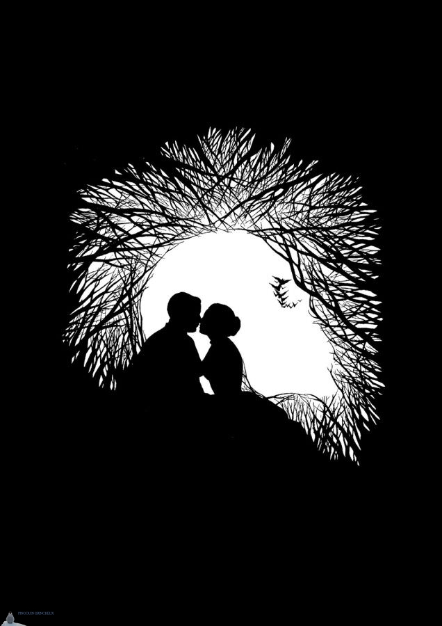 photos triviales en noir et blanc