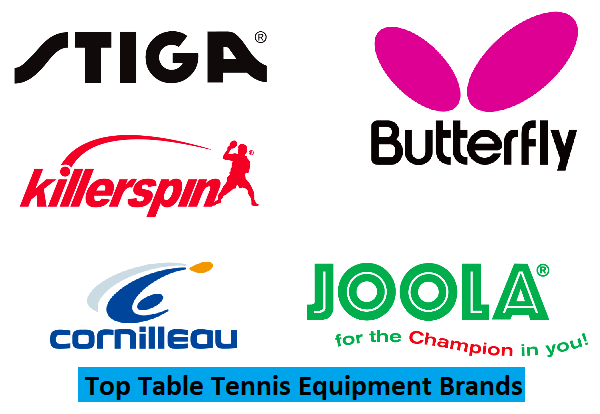 Top Table Tennis Equipment Brands