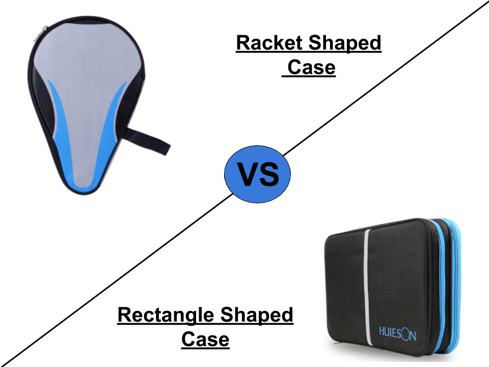 ping pong case shapes