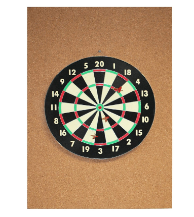 Cork Dart Board Backer Review