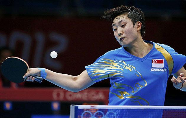 Feng Tianwei Shakehand Player