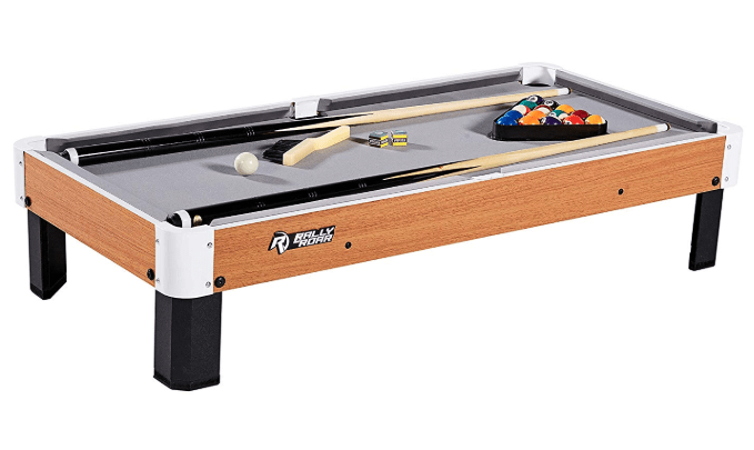 Rally and Roar Tabletop Pool Table Set Review