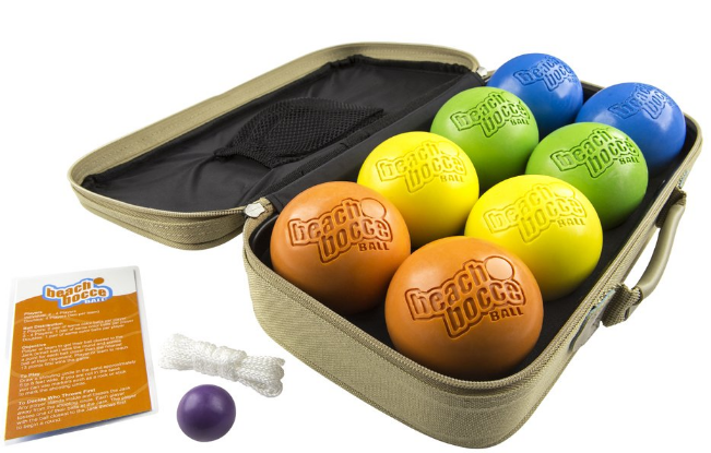 SeaTurtle Sports Luxury Beach Bocce Ball Crack and Rust Proof Set Review