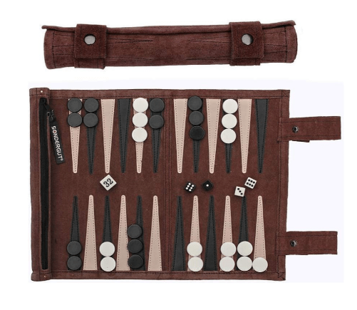 Sondergut Roll-Up Suede Backgammon Game Review