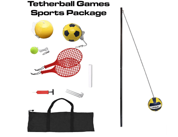 Verus Sports In-ground 3-in-1 Tetherball Set Review