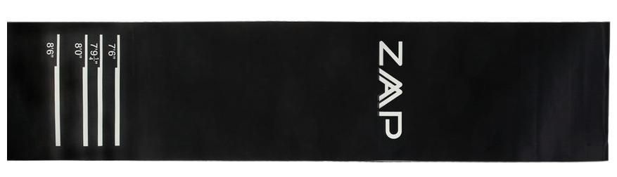 ZAAP Heavy Duty Throw Line Rubber Dart Mat Review