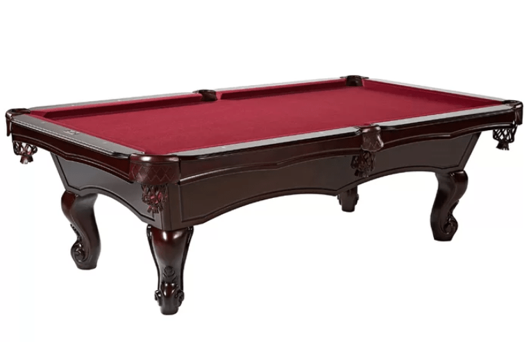 7 or 8 Foot Color Dark red MetaBall Billiard Cloth Pool Table Felt for Size 6