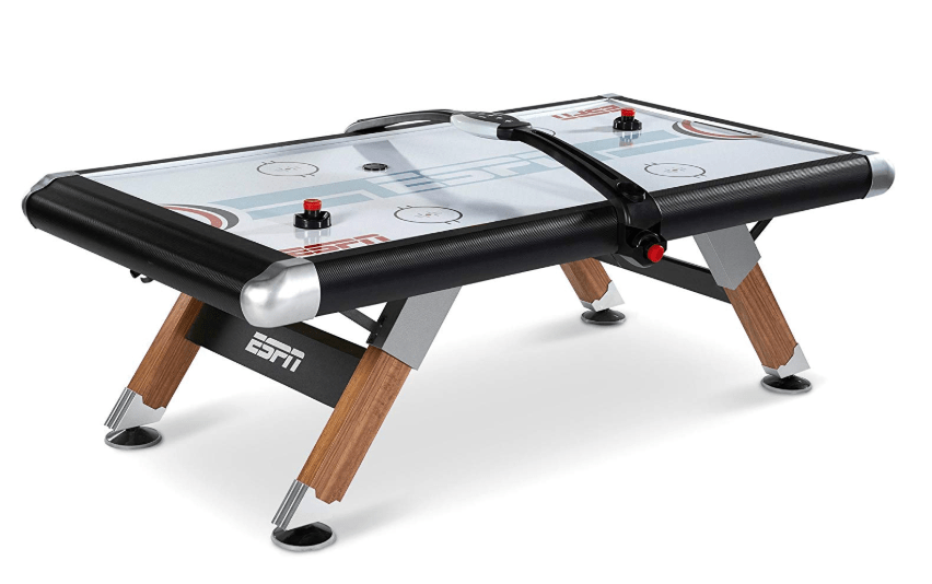 ESPN Air Hockey Table with Overhead Electronic Scorer Review