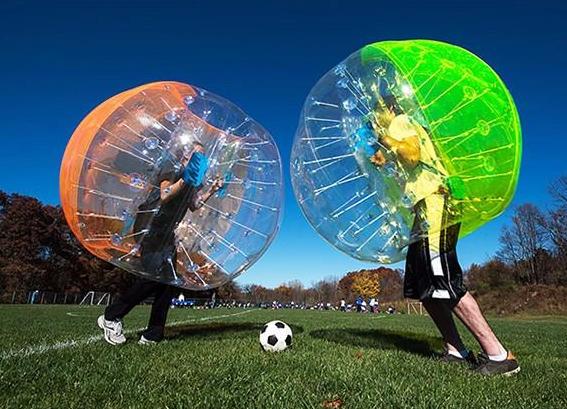 Giant Bubble Football