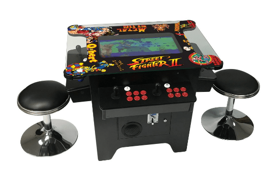 Prime Arcades, LLC Cocktail Arcade Machine 1162 Games in 1