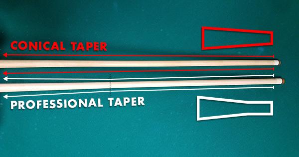 Pro taper vs normal taper