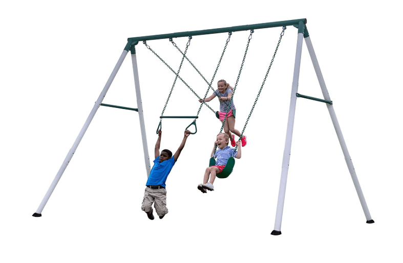 Backyard Discovery Big Brutus Heavy Duty Metal Swing Set