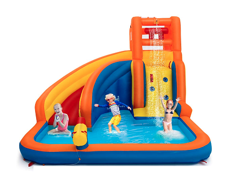 Costzon Inflatable Water Slide