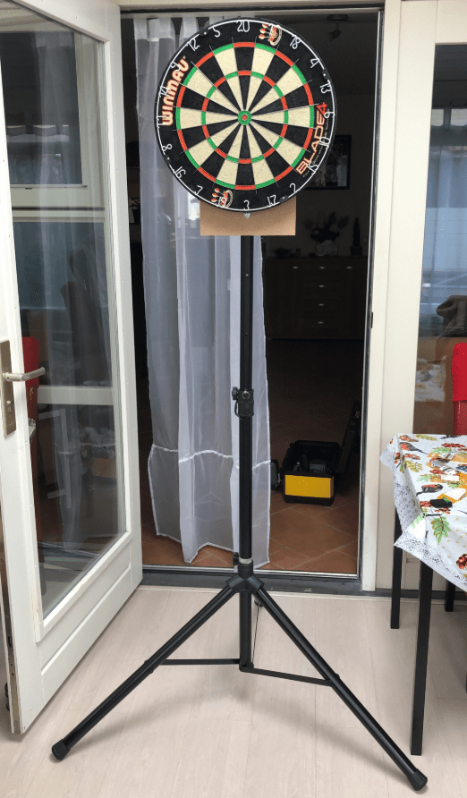 DIY Dartboard Stand step by step instructions
