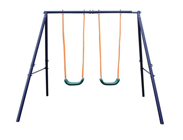 KLB Sport A-Frame Metal Swing Set