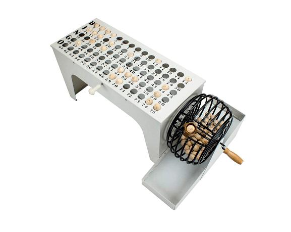 Royal Bingo Supplies EZ-Reset Professional Steel Tabletop Bingo