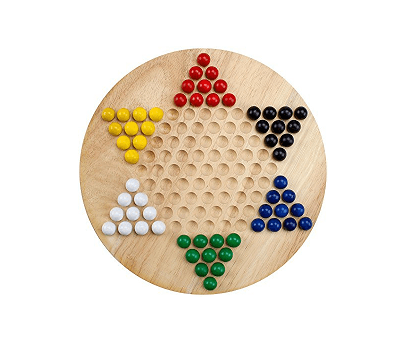 BryBelly Wooden Chinese Checkers