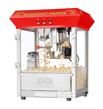 Roosevelt Antique Countertop Style Popcorn Popper Machine