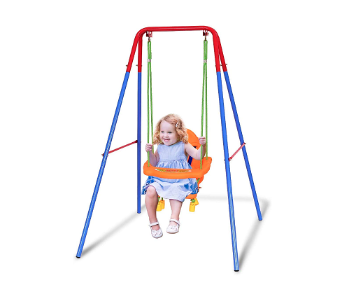 Costzon Toddler Swing Set