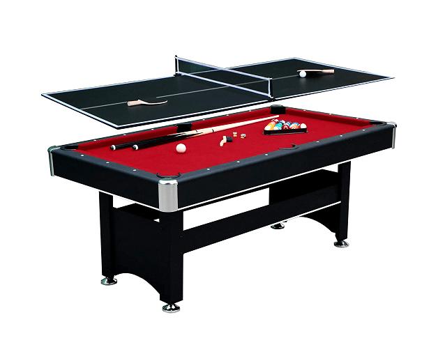 Hathaway Spartan 6' Pool/Ping Pong Combo