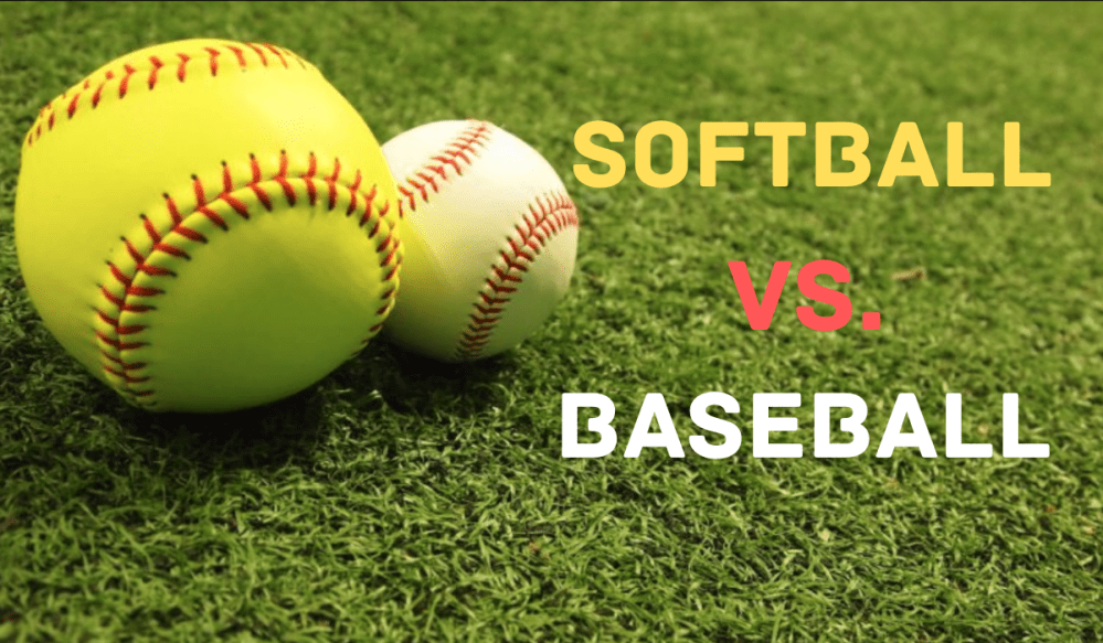 Softball Vs Baseball Key Differences